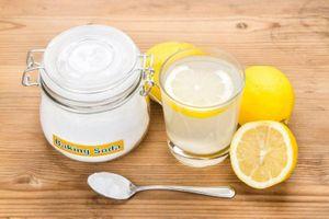 Lợi ích sức khỏe tiềm năng của baking soda và chanh