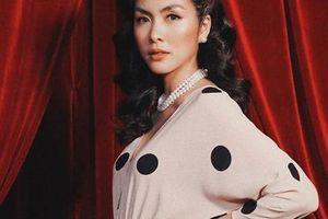Gu thời trang khác nhau 'một trời một vực' giữa Hà Tăng và em chồng Tiên Nguyễn