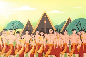 Nhân ngày Giỗ Tổ Hùng Vương, ôn lại truyền thuyết về 'Bọc trăm trứng'