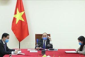 Thủ tướng điện đàm với tổng thống Hàn Quốc về dịch COVID-19