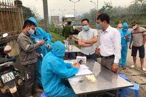 Lào Cai: Bất cứ ai từ Hà Nội về cũng phải cách ly 14 ngày