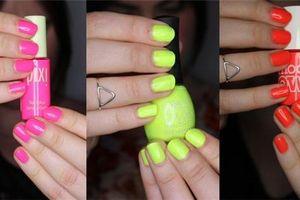 Những mẫu nail neon giúp nàng nổi bần bật mùa hè này