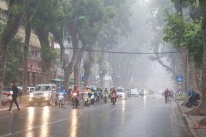Cảnh báo mưa lớn diện rộng, gió mùa Đông Bắc ở Bắc Bộ và Bắc Trung Bộ