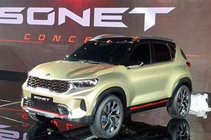 Kia Sonet sắp ra mắt, giá hơn 200 triệu 'đấu' Hyundai Kona, Ford Ecosport