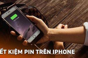 Chỉ cần làm thao tác này, bạn sẽ tiết kiệm pin iPhone đáng kể