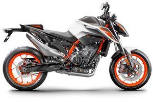 Naked bike 890 phân khối, phanh ABS, giá gần 300 triệu