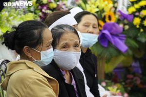Xúc động lễ viếng 2 chiến sỹ công an hy sinh khi làm nhiệm vụ ở Đà Nẵng