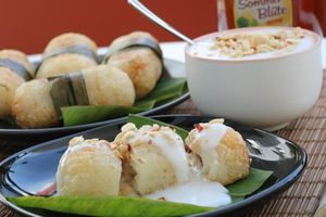 Chuối nếp nướng và 4 món ăn vặt từ chuối dễ làm tại nhà