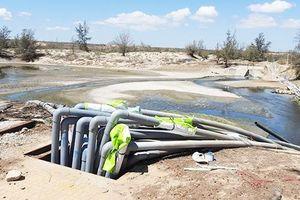 Sớm xử lý việc xả nước thải bẩn ra biển ở Ninh Thuận