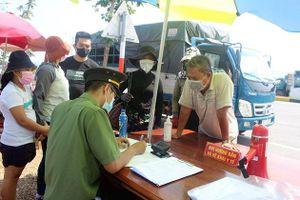 Quảng Nam tăng cường kiểm soát y tế đối với người về từ các vùng dịch