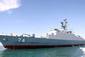 Iran tuyên bố đóng tàu khu trục 6000 tấn mới