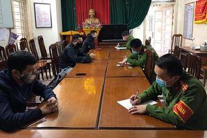 Ra đường tìm quán games để giải trí, 5 thanh niên bị phạt hành chính