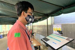Một bệnh viện ở TP.HCM triển khai ứng dụng khai báo y tế