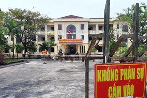 Quảng Nam cách ly 548 người về từ Hà Nội, TP Hồ Chí Minh
