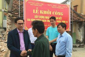 Sức lan tỏa cuộc vận động xóa nhà dột nát cho hộ nghèo ở xứ Nghệ