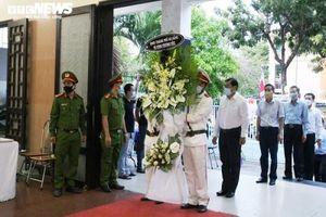Lễ viếng 2 chiến sĩ công an hy sinh khi truy bắt nhóm đua xe