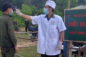 Cách ly nhiều người vượt biên từ Lào về Việt Nam