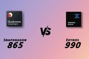 Không có sự khác biệt về hiệu năng giữa Exynos 990 và Snapdragon 865
