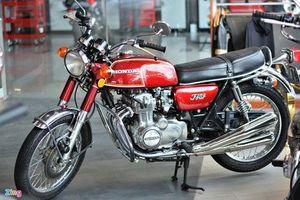 Honda CB350F hàng hiếm tại Việt Nam: Động cơ 4 xi lanh, công suất 34 mã lực
