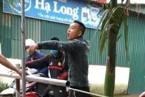 Quảng Ninh: Nam thanh niên tấn công tổ công tác khi bị kiểm tra khai báo y tế