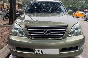 Lexus GX470 lăn bánh 12 năm hơn 1,1 tỷ đồng ở Hà Nội