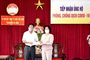 Ủng hộ các lực lượng tại Đà Nẵng, Hà Nội phòng, chống dịch