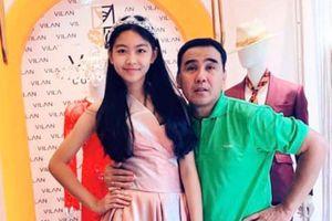 MC Quyền Linh chia sẻ hình ảnh ngày ấy - bây giờ của bé Lọ Lem, nhân dịp sinh nhật 14 tuổi