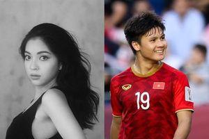 Trước câu hỏi về tình yêu với Quang Hải, Nhật Lê nói gì?