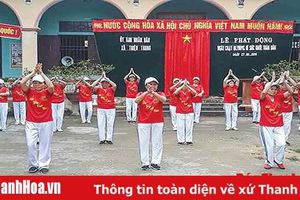 Hiệu quả phong trào 'Toàn dân đoàn kết xây dựng đời sống văn hóa' ở xã Thiệu Trung