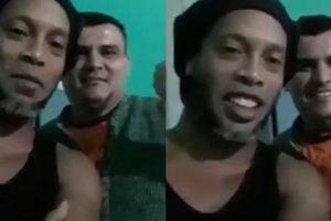 Huyền thoại Ronaldinho lần đầu chia sẻ trước ống kính kể từ ngày bị bỏ tù, gây chú ý bởi bộ râu cực lạ lẫm