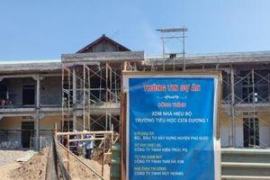 Dùng ngân sách xây trường trên đất tranh chấp: Tỉnh Kiên Giang chỉ đạo thanh tra