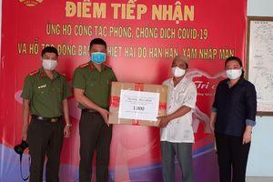 1.000 khẩu trang kháng khẩu tặng đồng bào Chăm ở quận 8, TPHCM