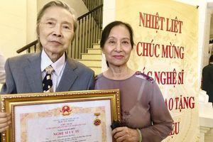 NSƯT Ngọc Hướng qua đời ở tuổi 85