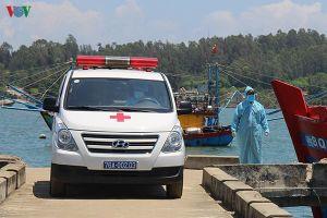 Toàn bộ ngư dân trên tàu cá bị tàu Trung Quốc đâm chìm đã vào bờ an toàn