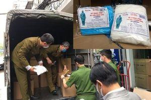 Hà Nội: Kiểm tra xe tải phát hiện đường dây 'khủng' nghi buôn bán vật tư y tế giả