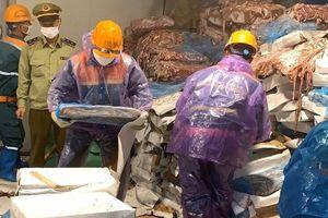 Hải Dương: Phát hiện kho chứa 72 tấn nội tạng động vật không rõ nguồn gốc