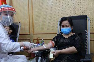 Ban Tổ chức Trung ương phát động chương trình hiến máu tình nguyện