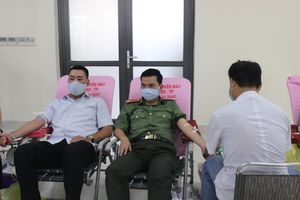 Công an TPHCM tình nguyện hiến 1.000 đơn vị máu cứu người