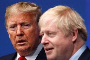 Anh từ chối đề nghị giúp chữa trị cho Thủ tướng Johnson của ông Trump