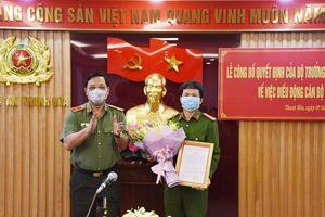 Đại tá Nguyễn Quang Huy giữ chức phó giám đốc Công an tỉnh Thanh Hóa