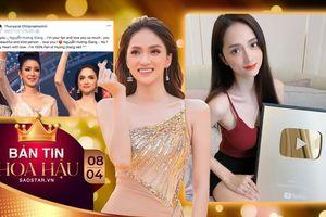 Chúc mừng Hương Giang giật Nút vàng, 'fan cứng' đáng yêu nhất đích thị là Hoa hậu Chuyển giới 2007