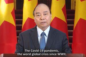 Thủ tướng: Dịch COVID-19 đòi hỏi các quốc gia phải đại nỗ lực, đại đoàn kết