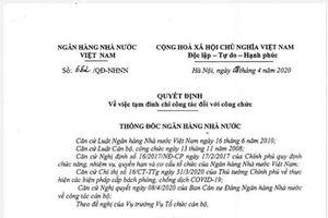 Vụ TS Bùi Quang Tín tử vong: Tạm đình chỉ công tác hiệu trưởng và 6 cán bộ ĐH Ngân hàng TP.HCM