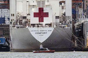 Bệnh viện quân đội bị 'ế', lính Mỹ tới bệnh viện New York chi viện