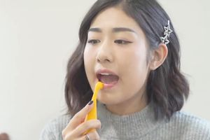 Trang Lou chia sẻ bí quyết chăm sóc môi