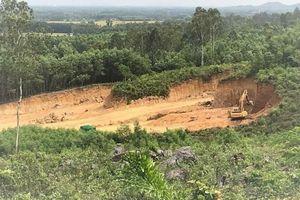 Quảng Ngãi: Khai thác mỏ ngay sát di tích lịch sử Quốc gia Chiến thắng Đình Cương