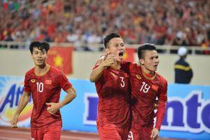 Bảng xếp hạng FIFA: ĐT Việt Nam giữ vững vị trí số 1 Đông Nam Á