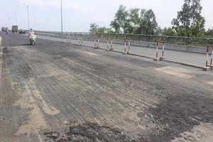 Phân luồng giao thông 1 chiều qua cầu Rạch Miễu