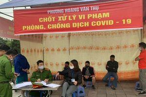 Quận Hoàng Mai: Lập 35 chốt trực để xử lý người vi phạm cách ly xã hội