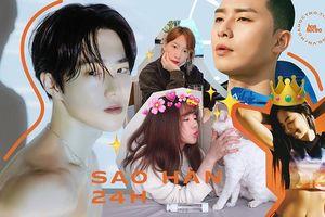Sao Hàn 24H: Ngắm Johnny (NCT) ngủ nướng cưng 'xỉu', Jennie BLACKPINK khoe bụng phẳng lì